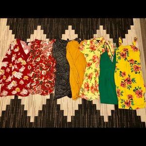 NWOT   NWT   F21   MINI DRESSES BUNDLE